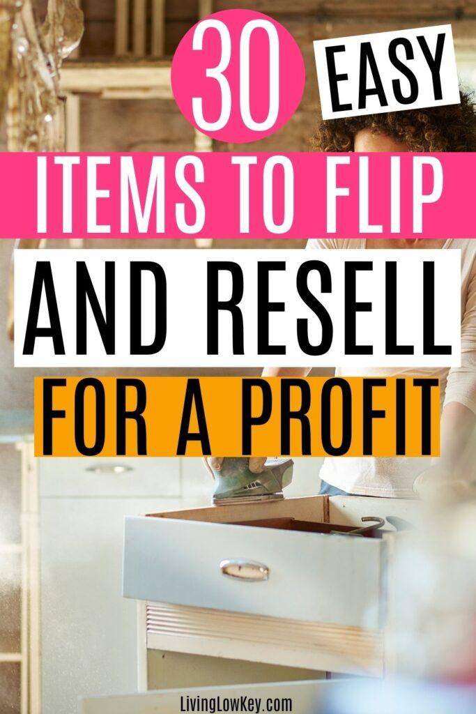 flipping items